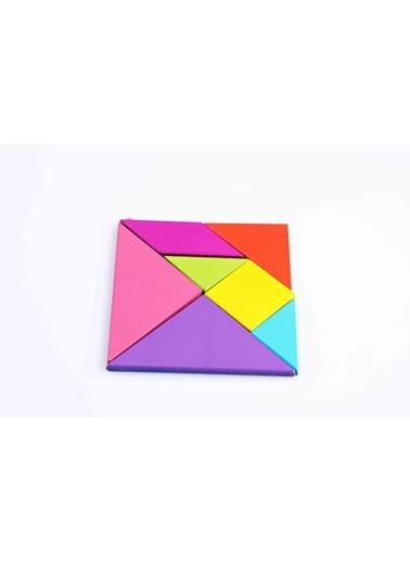Renkli Ahşap Tangram-Learning Toys